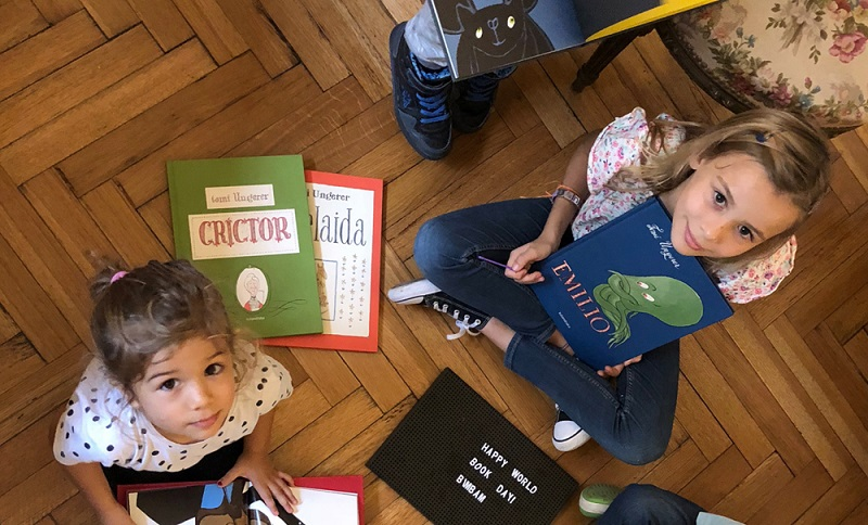 Bimbam Libros, an online store based out of Buenos Aires, celebrate World Book Day with Tomi's books.
