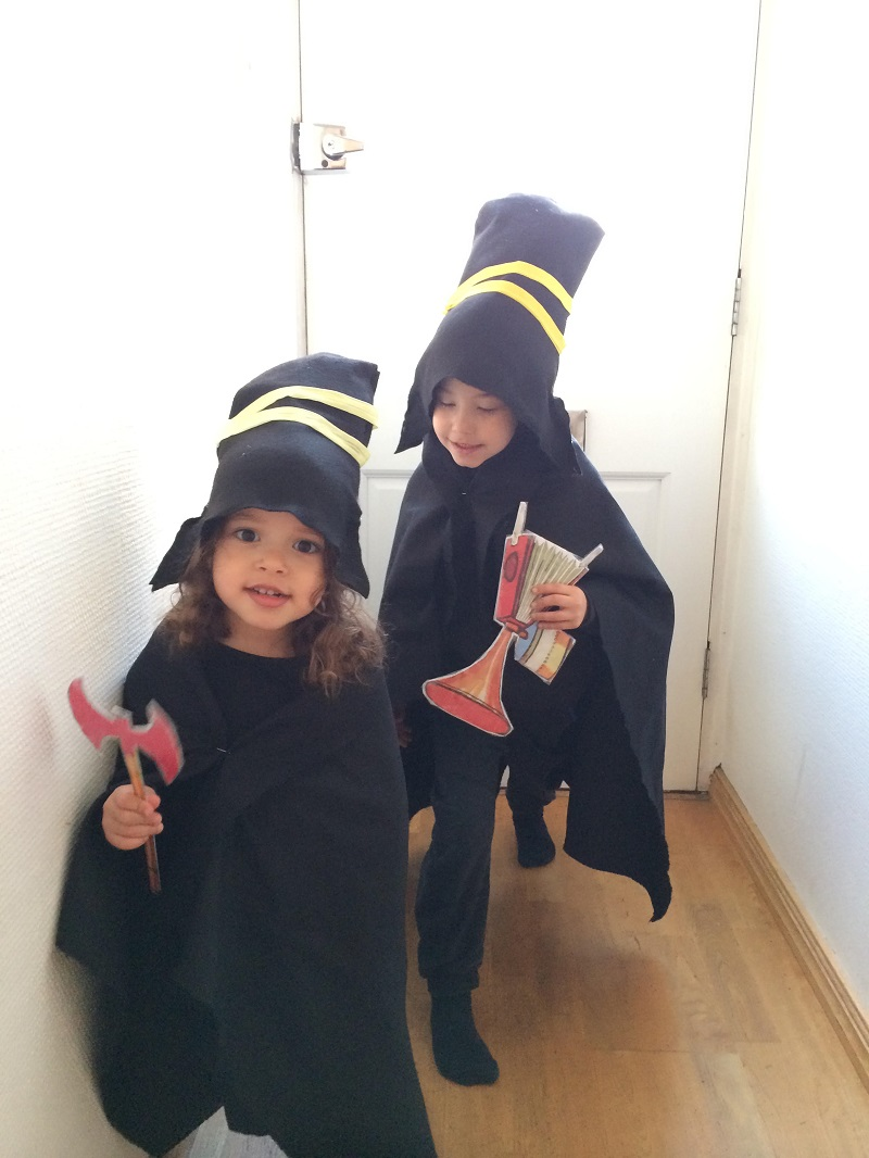 And another Three Robbers costume from Joel Gage's talented children.