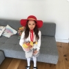 In the UK, Joel Gage's daughter dressed up as Tiffany from The Three Robbers!