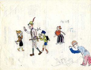 Tomi Ungerer's Childhood Drawings