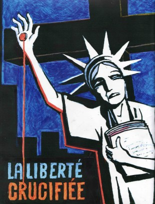 Liberte Crucifiee by Tomi Ungerer