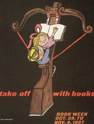Poster for Book Week, 1967. ©Tomi Ungerer