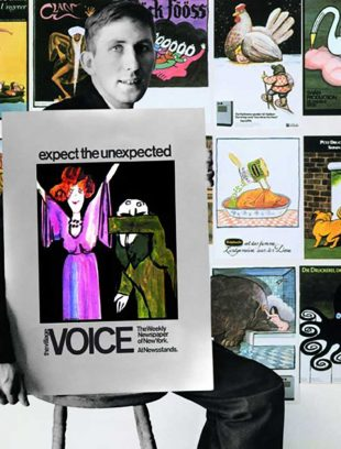 Tomi Ungerer and his posters